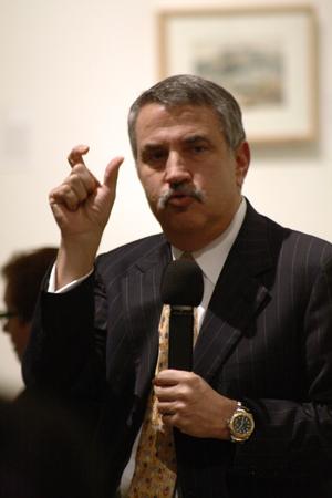 Friedman_gesturing