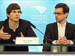 Kutcher and twitter