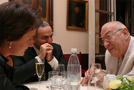 korchnoi and kasparov