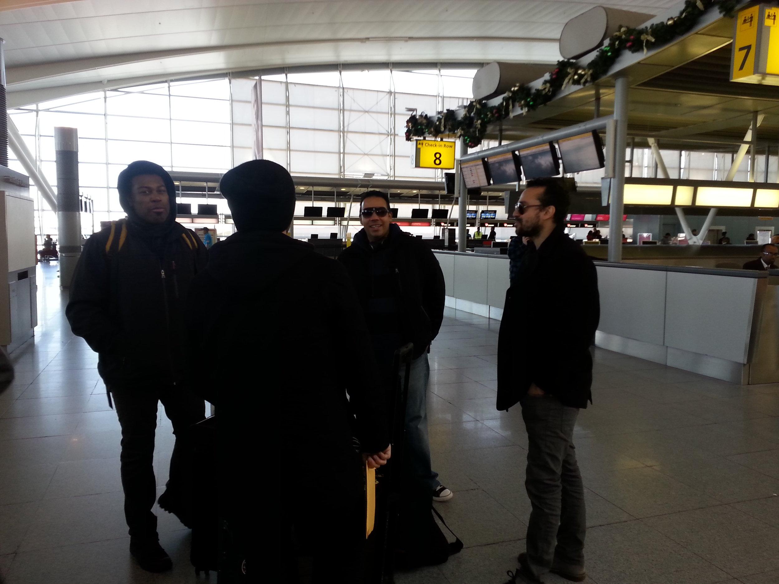 Antibalas Thanksgiving at JFK Terminal 4