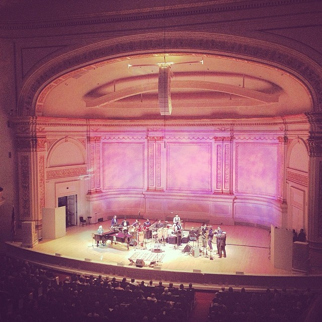 Antibalas at Carnegie with Allen Toussaint