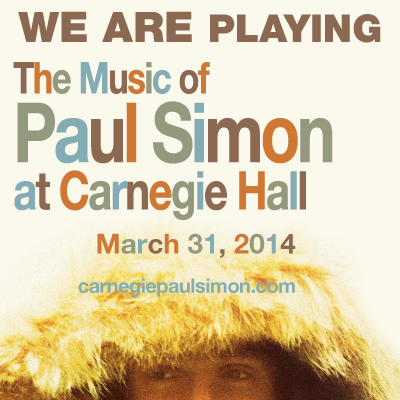 The Music of Paul Simon at Carnegie Hall