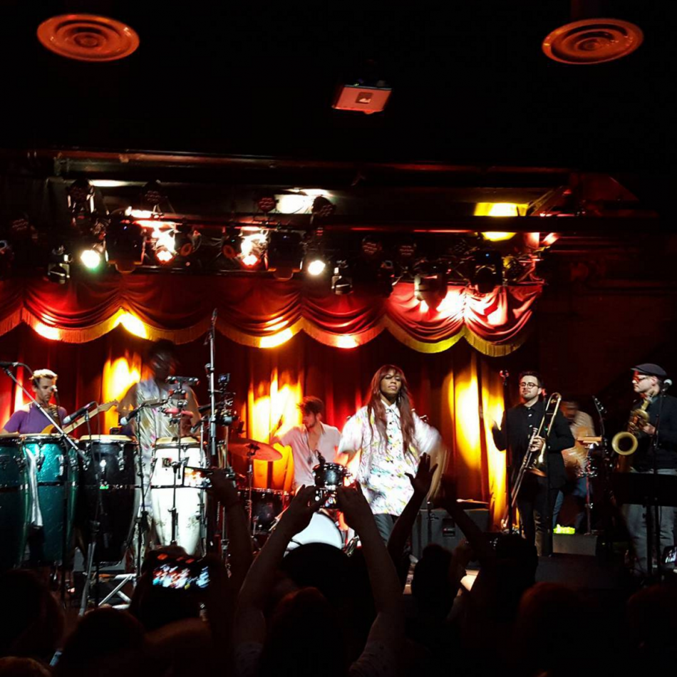 Santigold with Antibalas, Brooklyn Bowl 11-11-2015
