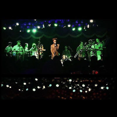 Saul Williams and Antibalas Brooklyn Bowl 11-4-2015