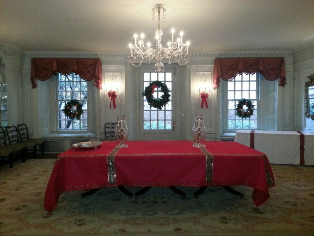 Dining Room and MPs handmade tablecloth.jpg