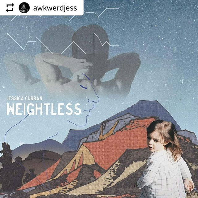 "Still proud and greatly happy that I got to work with @tempreclude on the Weightless cover and the inside artwork for ""Here."" She was so kind and easy to work with.. Not to mention incredibly talented!!! I'd recommend her for any project you might have! PLEASE check her out. Link is in my bio!"