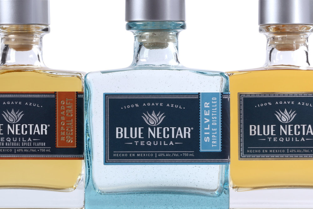 BLUE NECTAR TEQUILA ADVERTISING
