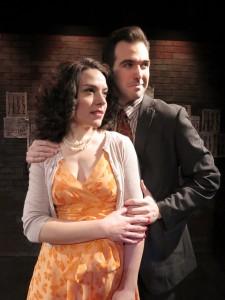 Kristen French and Joseph Robinson. Photo by Jonathan Slaff.
