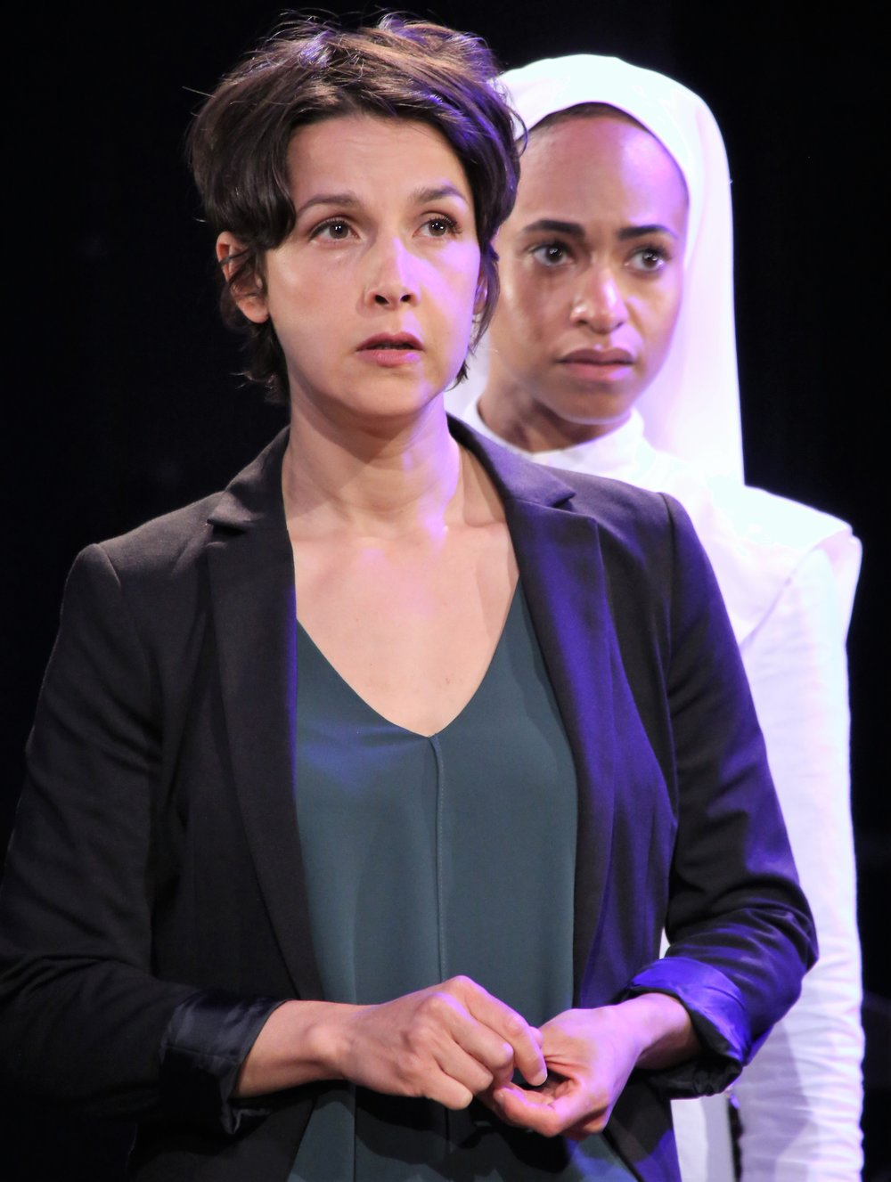 Ricketts with Merritt Janson as Mariana. Photographs by Gerry Goodstein.