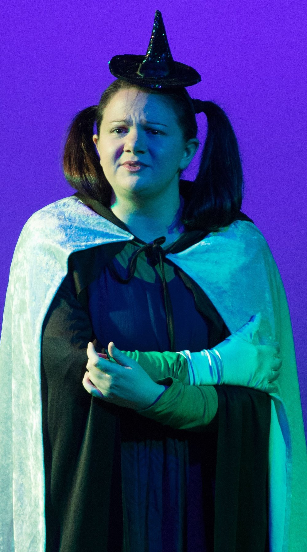 Armenti as Adele Dazeem plays Elsaba. Photographs by Adam Smith Jr.