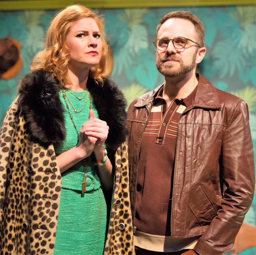 MacCluggage as Penelope, with Matt Harrington as Dr. Woodly. Photographs by Jeremy Daniel.