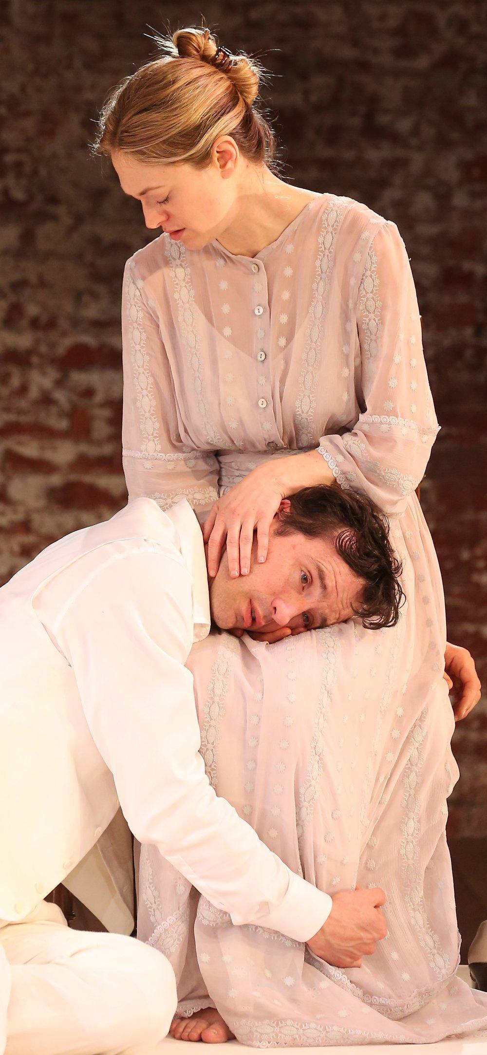 Darrow and Ireland as John and Alma.