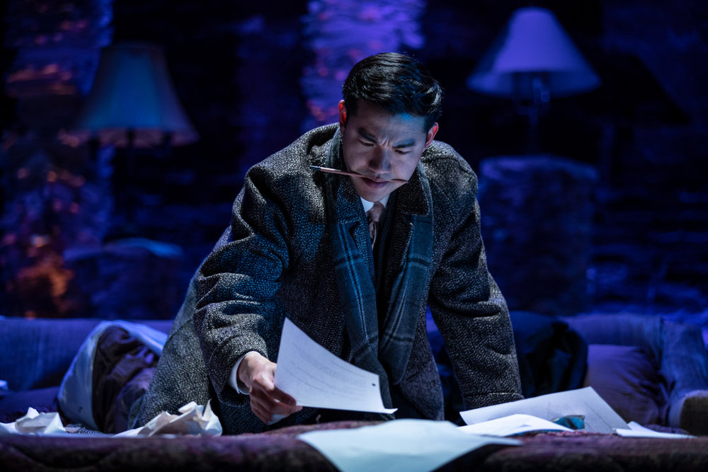 Isaac as playwright William Inge.