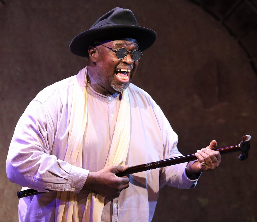 Babatundé brings joy to the role of Blind Lemon Jefferson.
