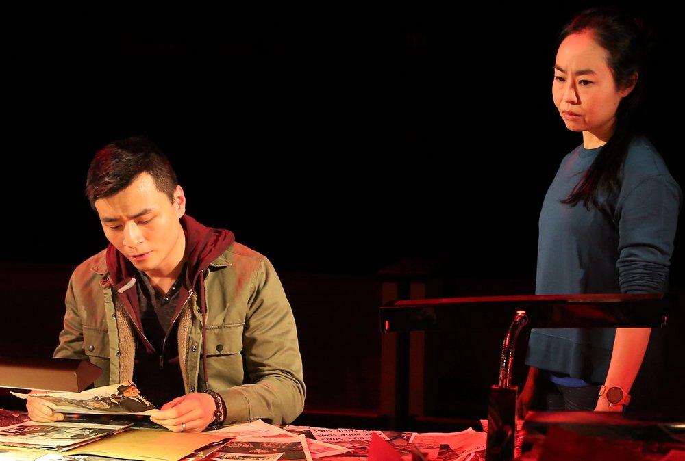 Huynh and Wong. Photographs by Carol Rosegg.