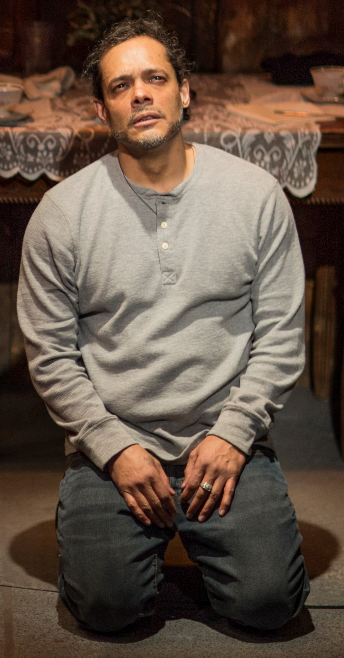 Javier Molina as Henry. Photographs by Edward T. Morris.