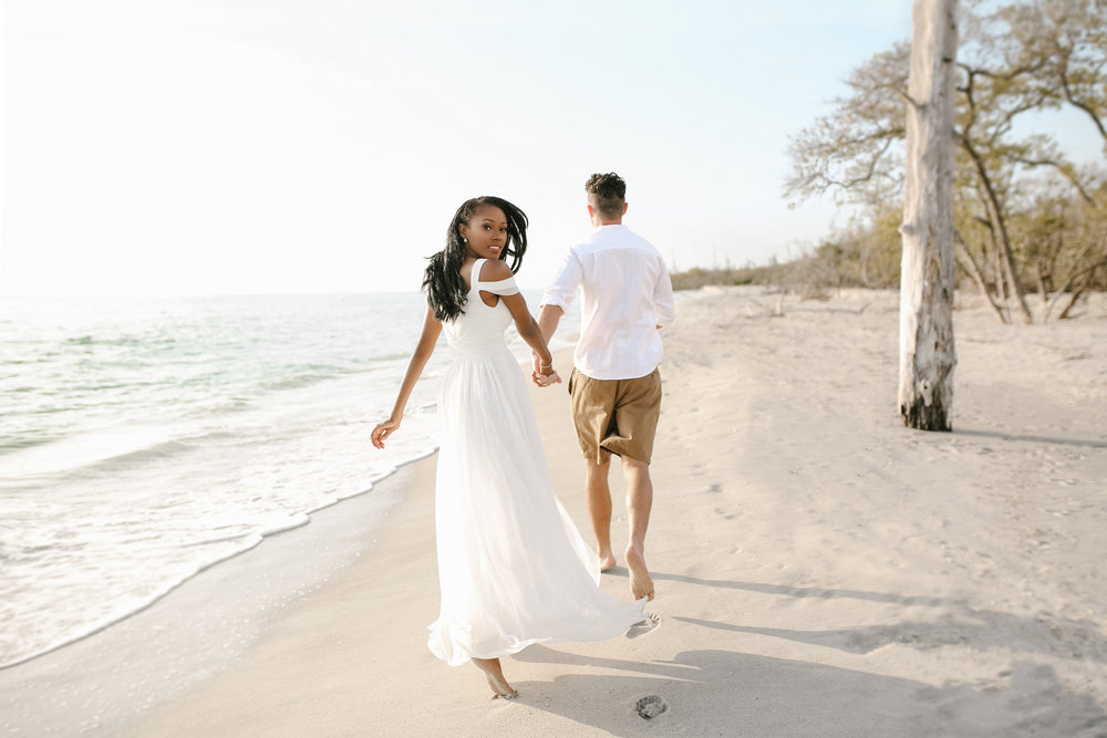 Captiva island engagement