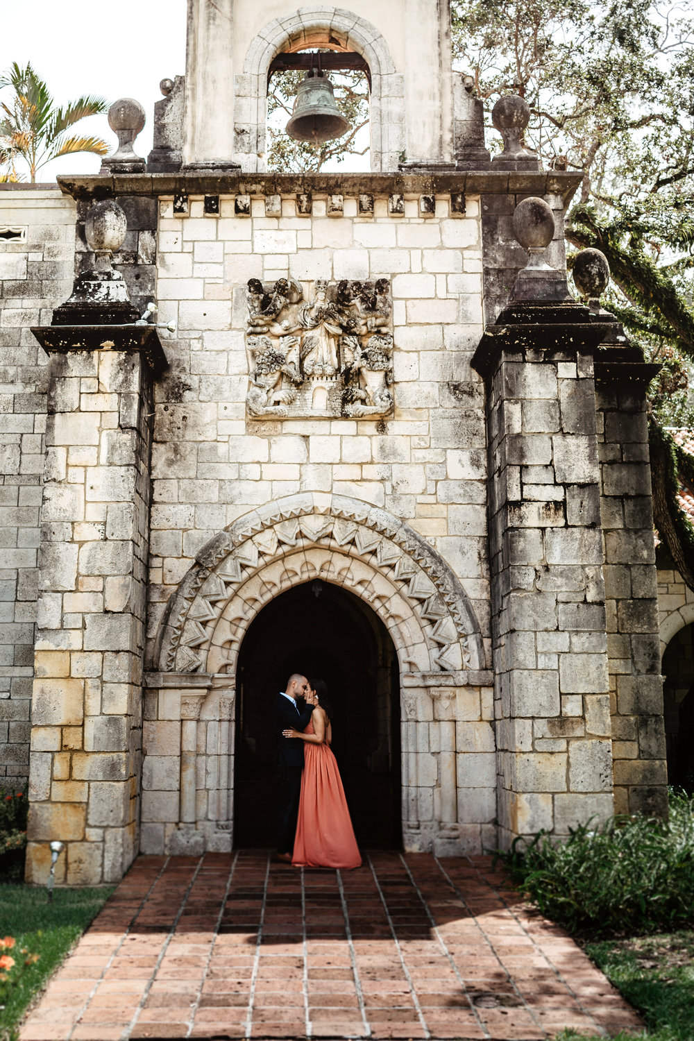 ancient spanish monastery in miami wedding