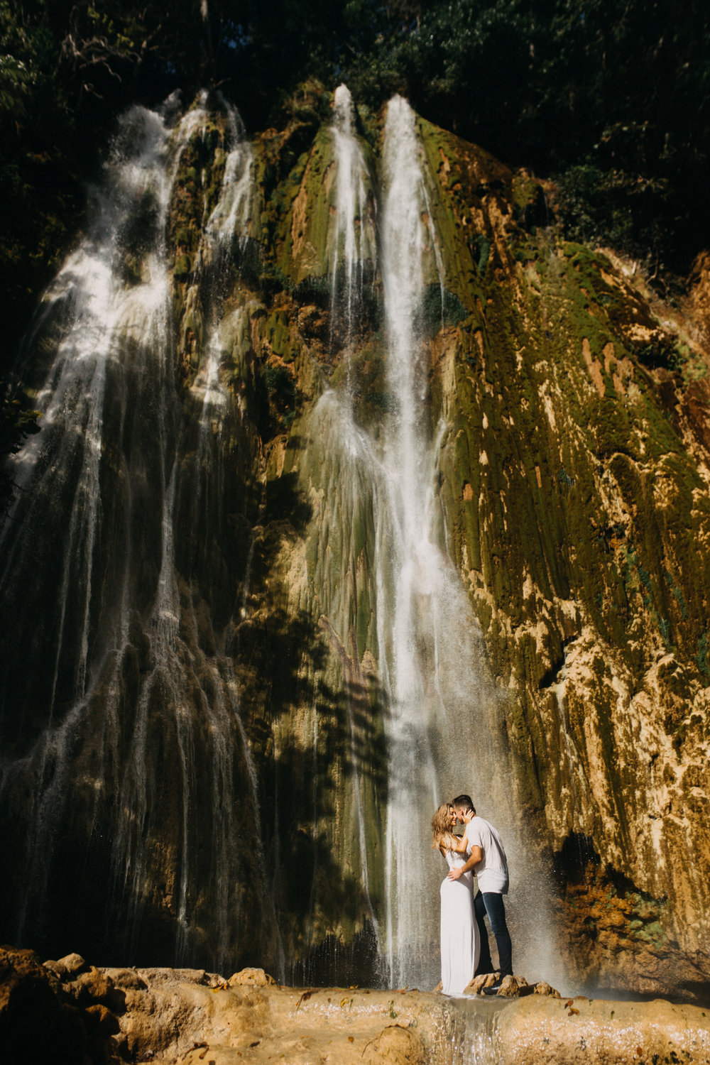 samana dominican republic waterfall photo