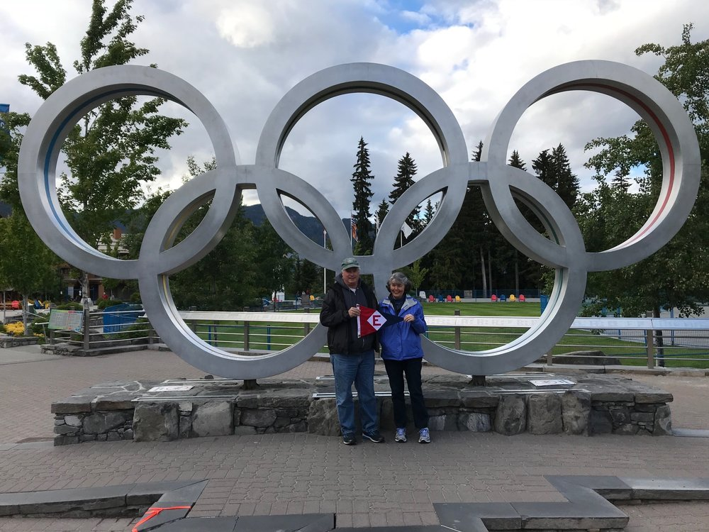 Rich and Dixie Aaring in Whistler, BC