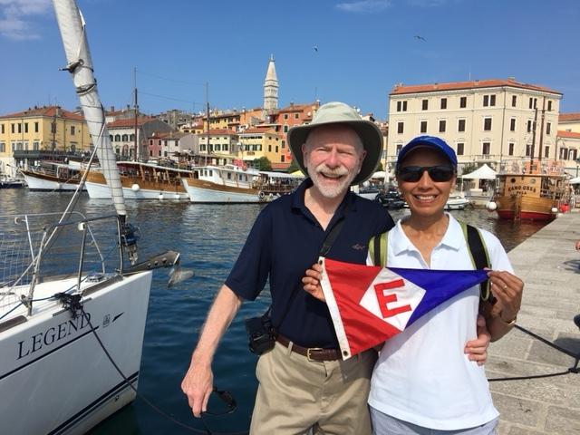 Matt & Dianne Fleischman in Rovinj, Croatia