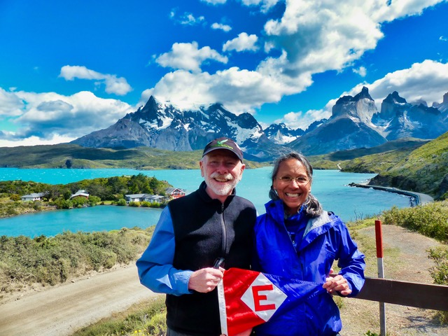 Matt & Diane Fleischman took their spirit all the way south to Patagonia.