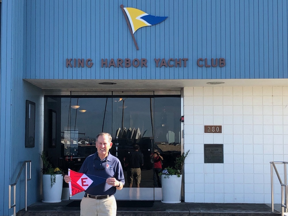 Gary Powell at the King Harbor Yacht Club in Redondo Beach, CA.