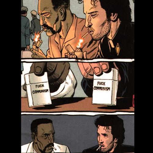 Fuck communism comic