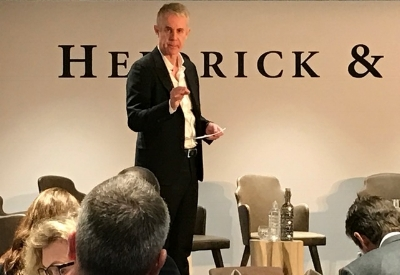 Co-author Colin Price introducing the principles of Accelerating Performance to a group of over 100 top global executives at the 2017 World Economic Forum in Davos, Switzerland