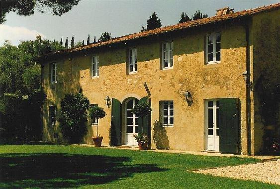 The house was restored from the ground up. In its previous life it was a farmhouse; the land nearby was used to grow olives, fruit, and vegetables.