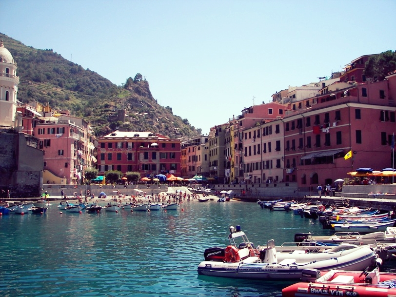 The harbor at Vernazza