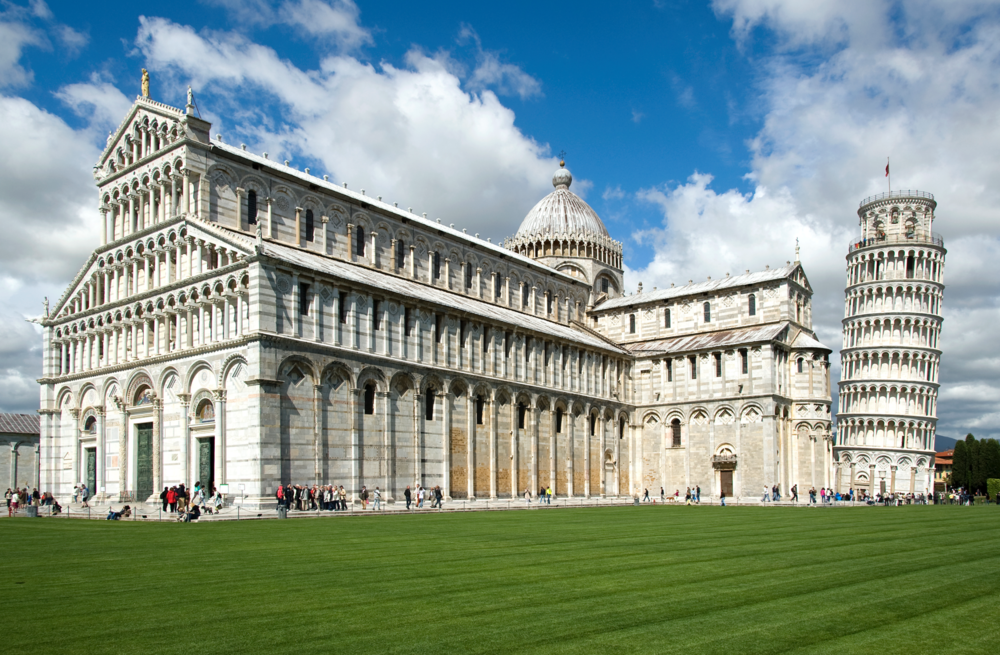 Duomo, Baptistry and Tower of Pisa