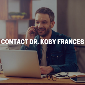 Contact Dr. Koby Frances a licensed psychotherapist in Midtown Manhattan, New York City