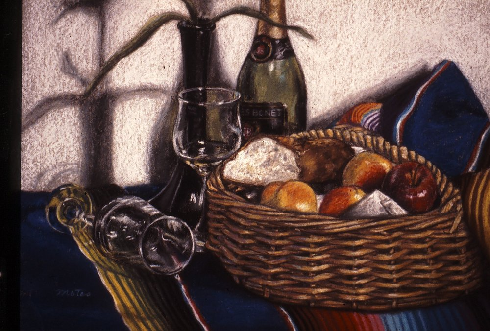 Still Life with Blanket