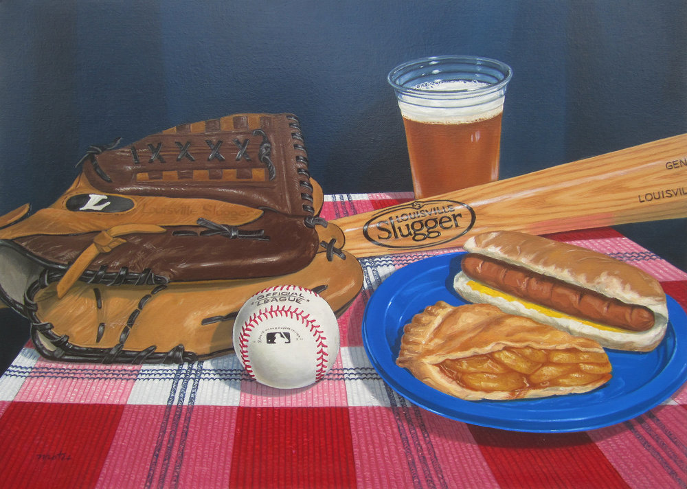 Baseball, Hot Dog and Apple Pie