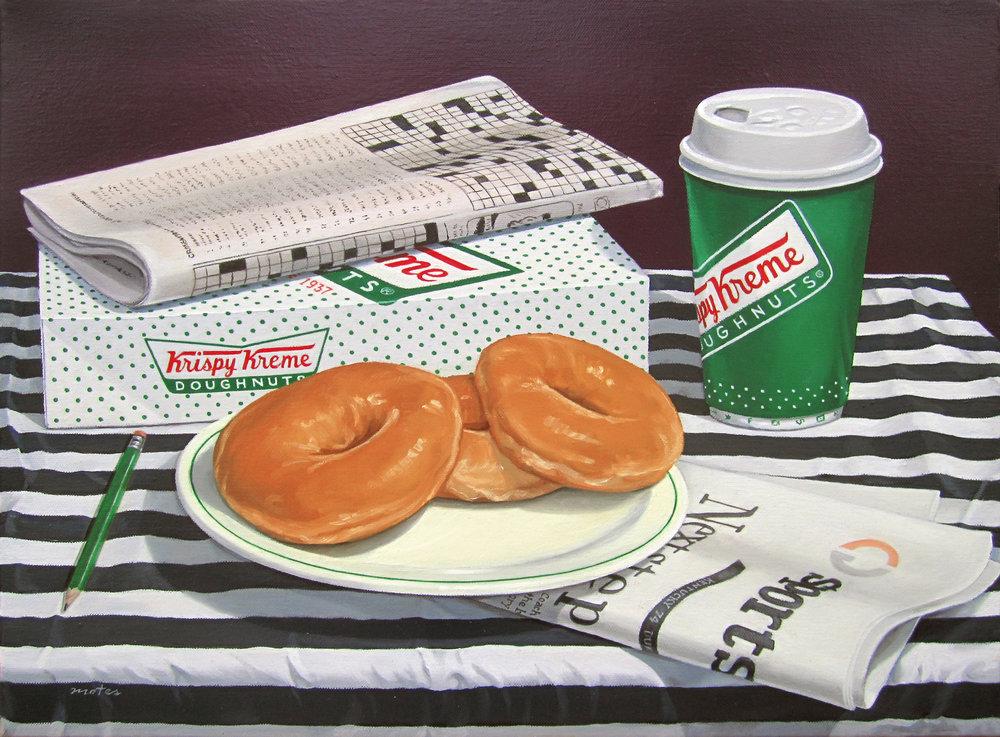 Saturday Morning & Krispy Kreme