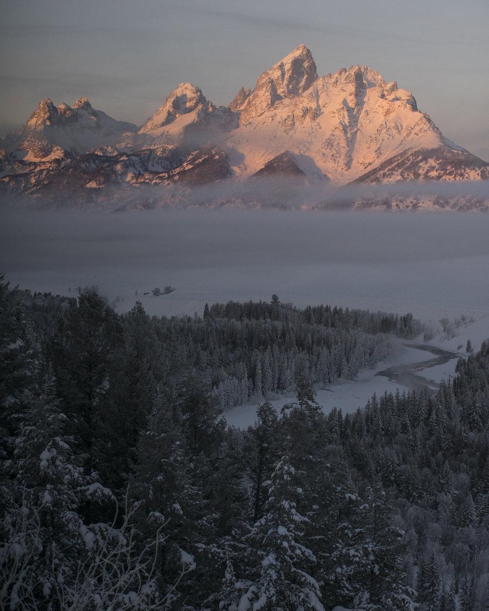 -17° Teton Sunrise