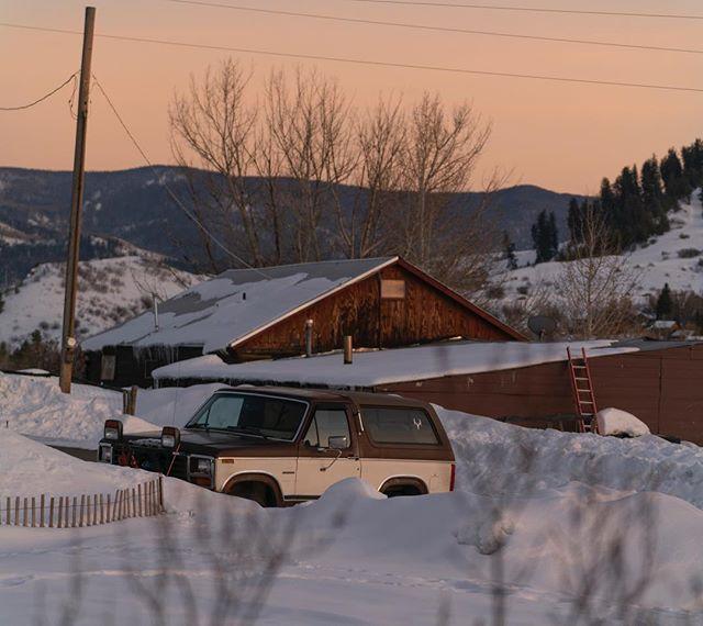 no shortage of rustic views in Ski Town, USA
