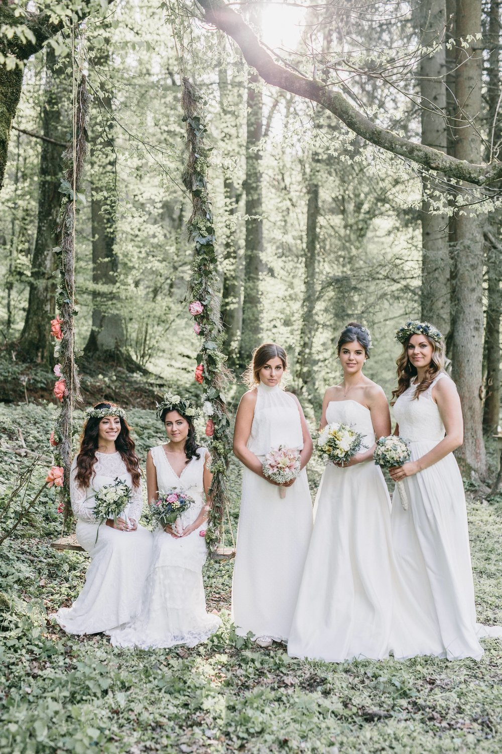 Let's meet in secret garden – Bohemian Wedding