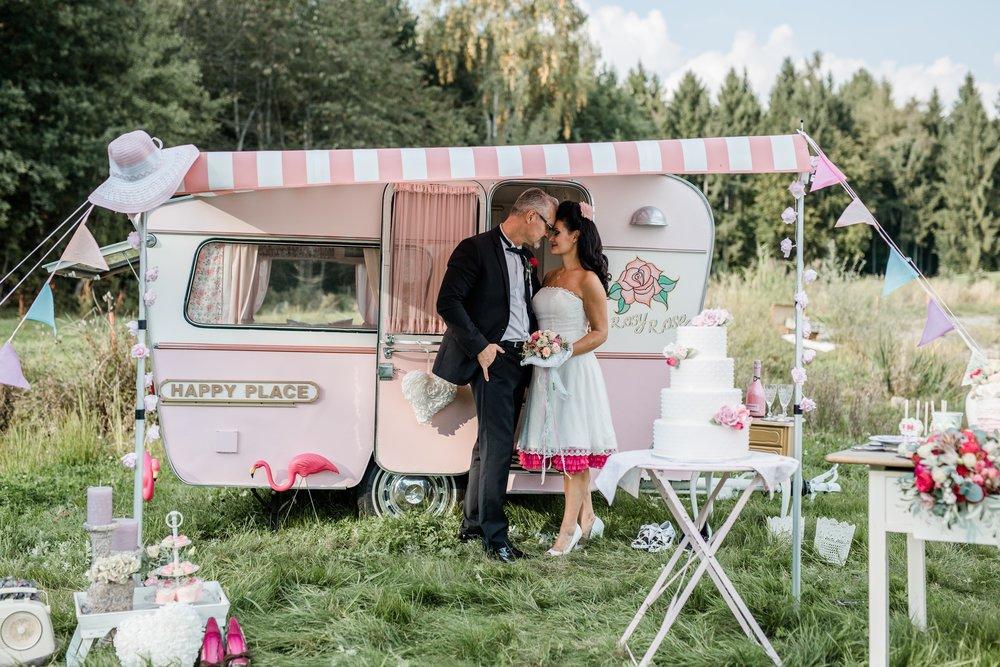 Rockabilly Vintage Hochzeit – ganz außergewöhnlich heiraten!