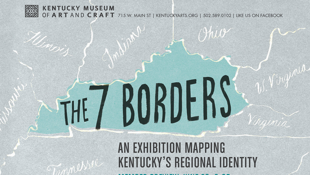 7 Borders, The Kentucky Museum of Art and Craft, 2013