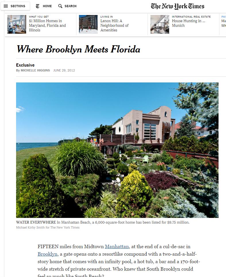 WHERE BROOKLYN MEETS FLORIDA