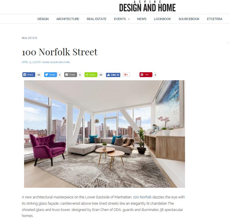 ASPIRE Design and Home | 100 Norfolk Street