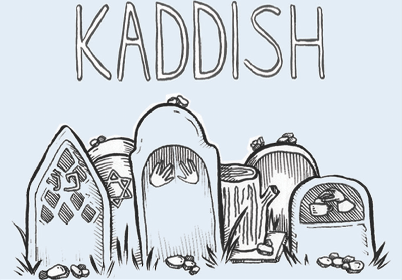 Kaddish Podcast - Kaddish, a podcast about death and mourning hosted by Ariana Katz,focuses on mourning ritual and customs, features first person storytelling and interviews, uses Jewish tradition to contextualize and deepens themes of the show, and holds space at the intersection of life and death.Listen to Season 1 here.