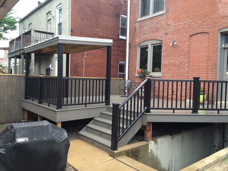 Renovated Back Deck