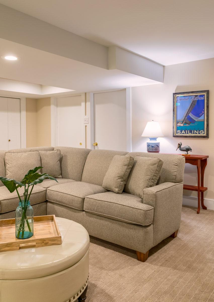 Tempel Basement Couch