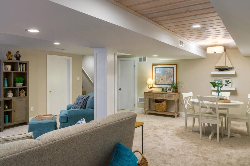Tempel Basement Living Room