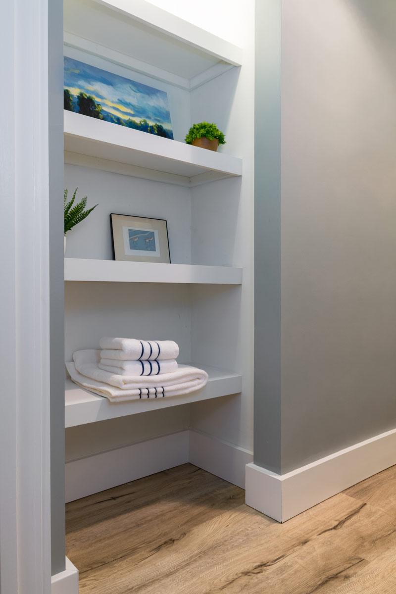 Tempel Basement Shelves