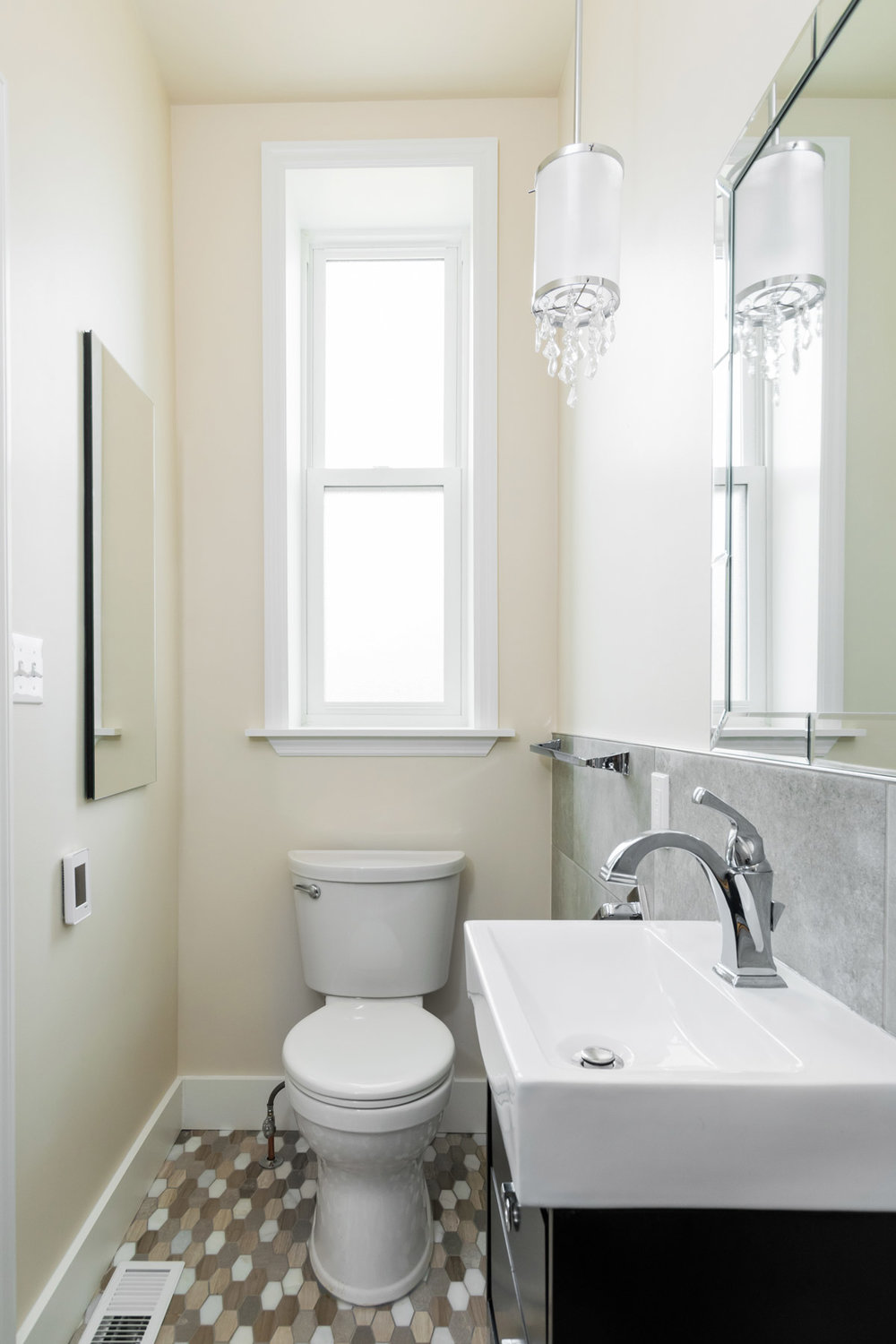 Economical Window with Sink