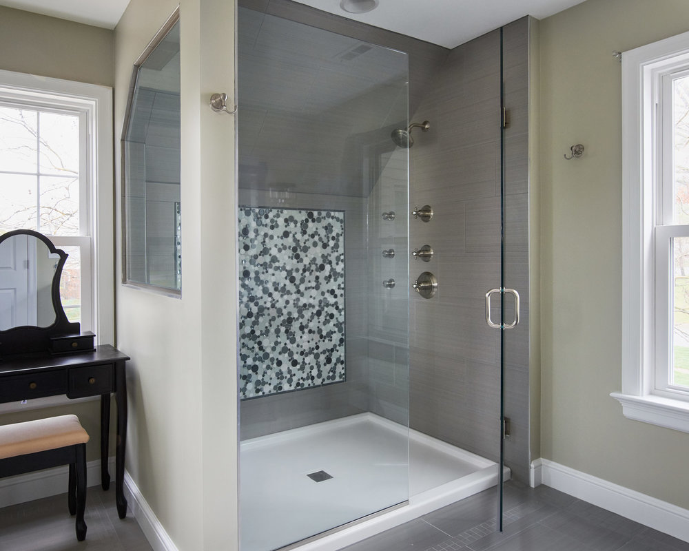 Large Open Shower